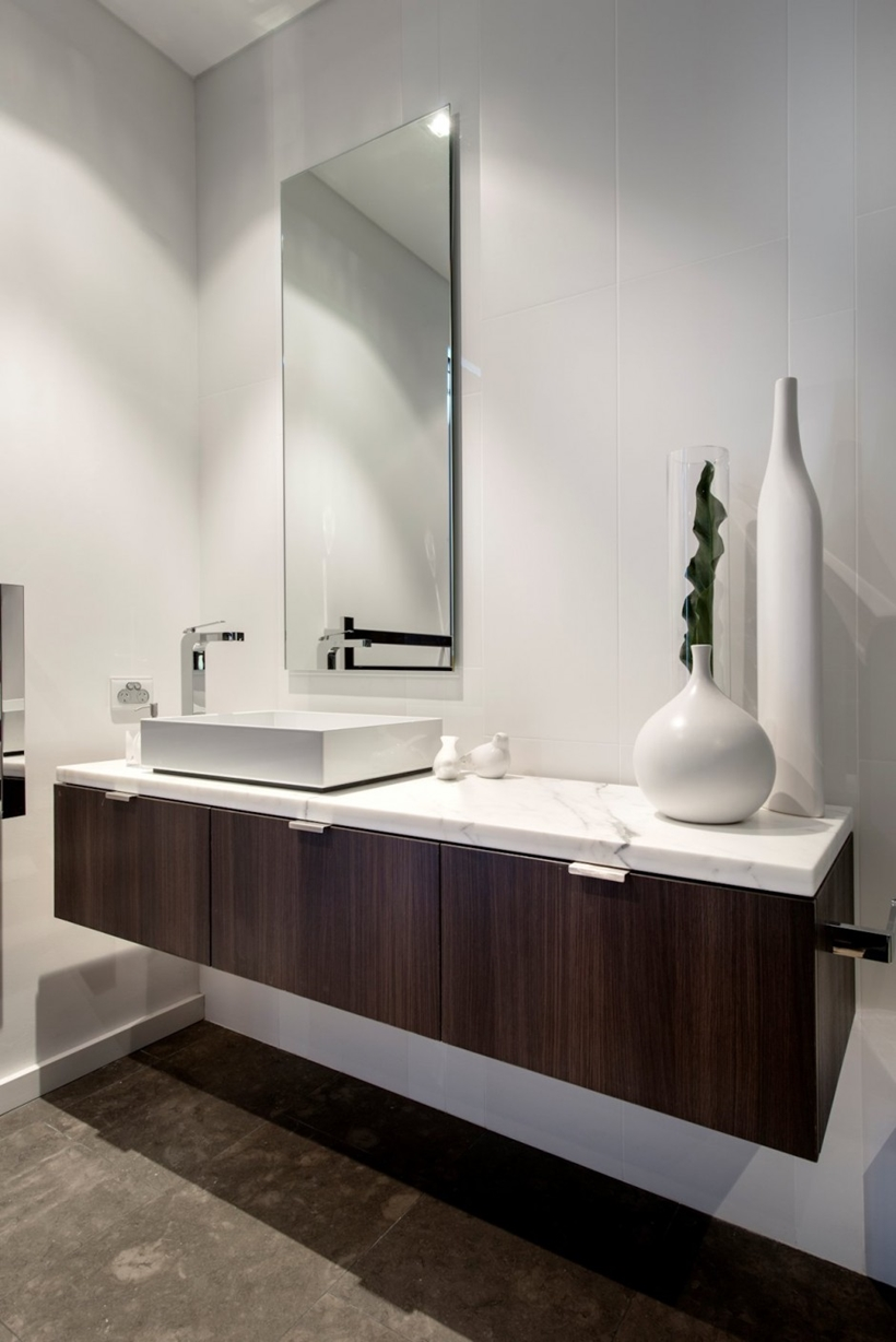 Contemporary bathroom furniture by Urbane Projects