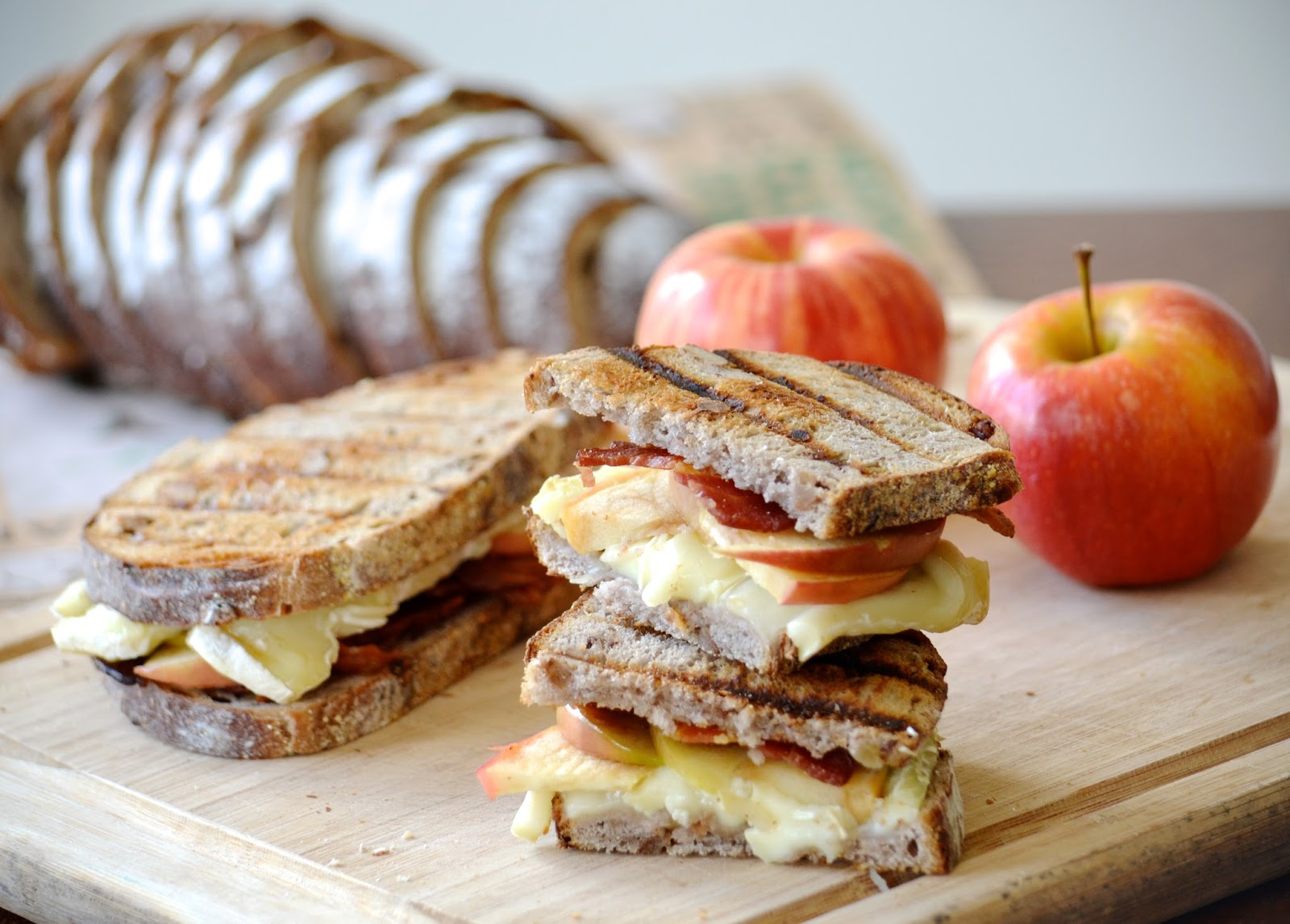 apple bacon and brie panini ingredients 2 slices bacon cooked