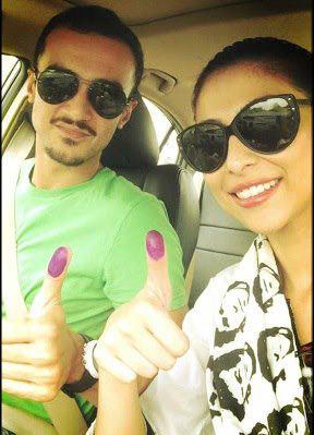 Meesha - Pakistan Celebrities voted for Pakistan