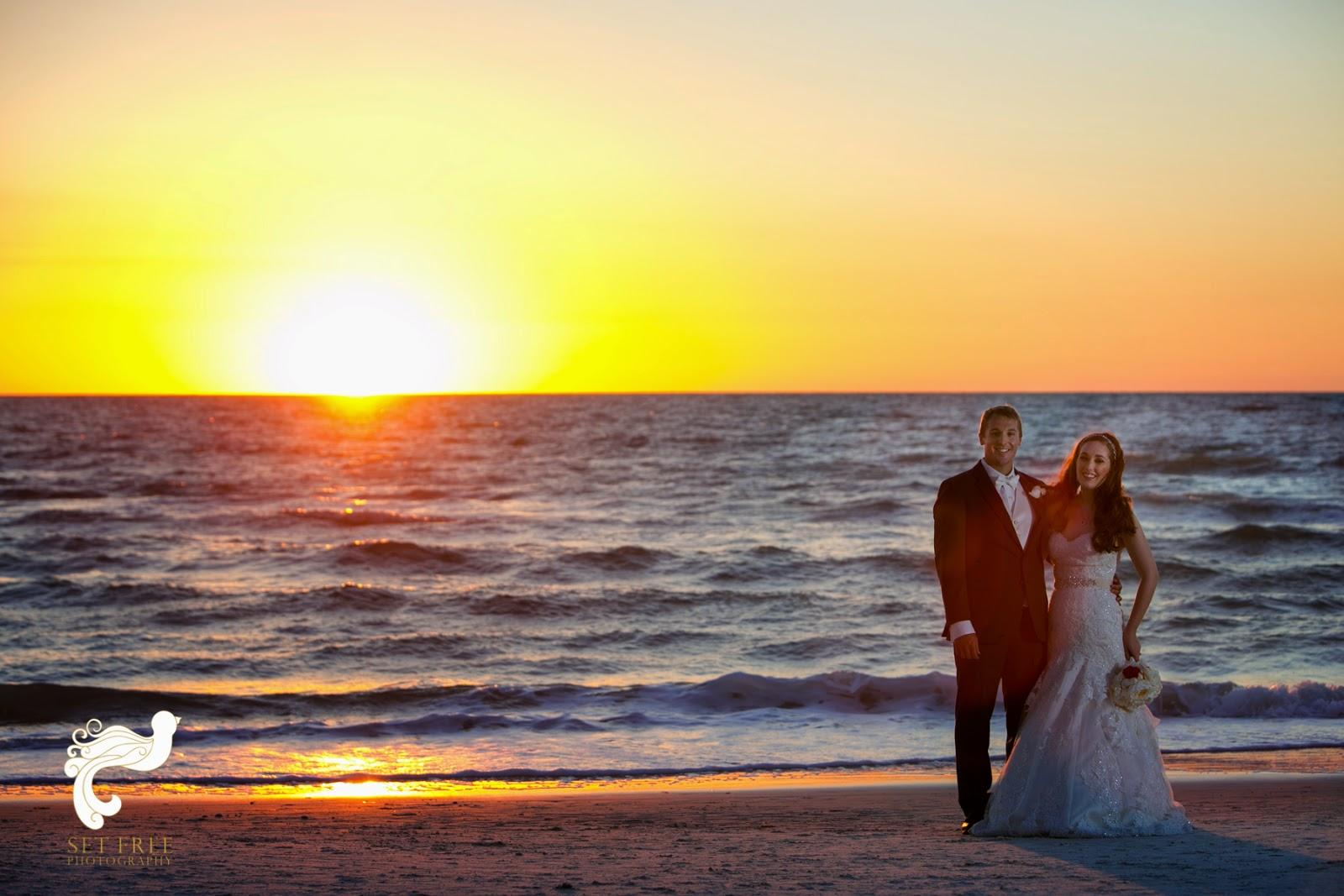 Ritz-Carlton Naples Wedding Couple