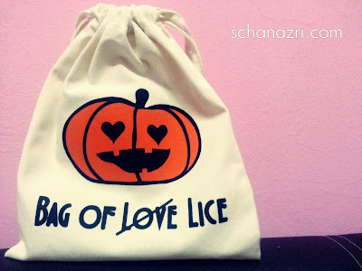 BeautyReviewbyScha Halloween Bag of Love eh Lice