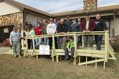 Wheelchair Ramp Build, 31 Jan 2015