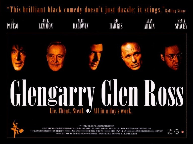 an interpretation of david mamlets play glengarry glen ross Mr mamet's talent for burying layers of meaning into simple, precisely  real- estate duels glengarry glen ross, by david mamet.