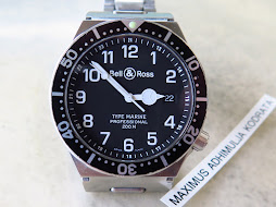 BELL & ROSS TYPE MARINE PROFESSIONAL 200m