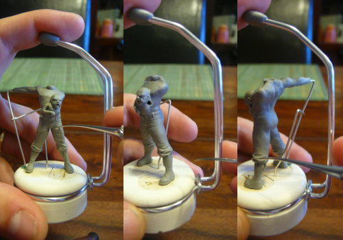 massive voodoo miniature holder by stephan rath