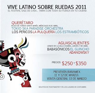 Vive Latino Sobre Ruedas 2011
