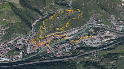 GPS Monastero di Sabiona Kloster Säben