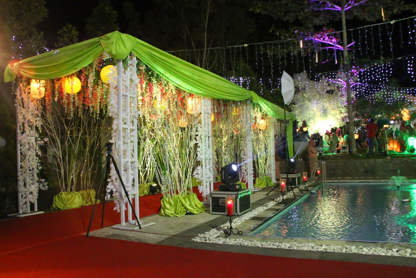 aida decoration exhibition tata rias pengantin