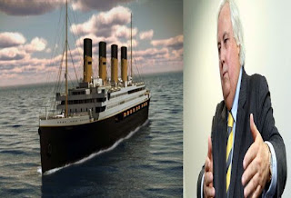 Australian business tycoon reveals that he wants to build a new replica of Titanic.