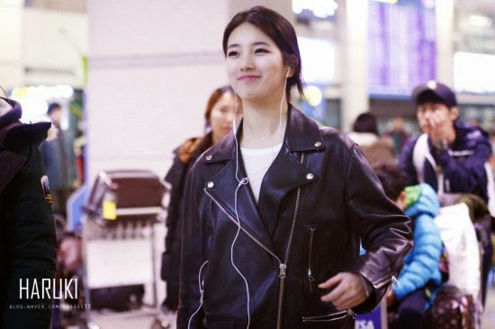 suzy with a natural hairstyle kpop kfans