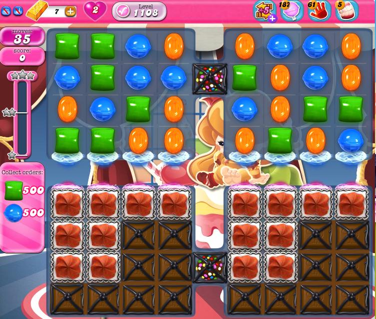 Candy Crush Saga 1108