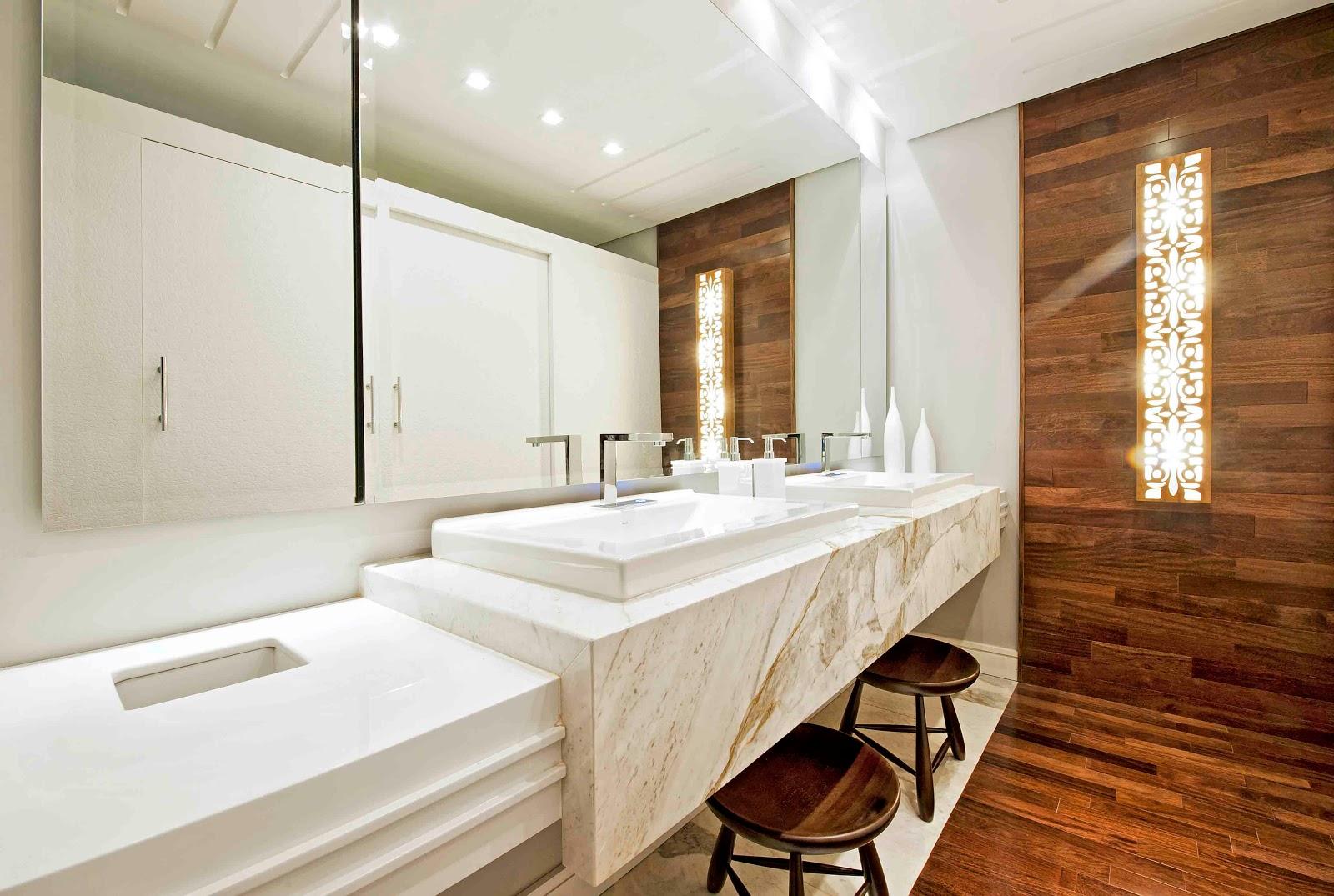 Blog da Casa.com: MICHELANGELO EM TRES AMBIENTES NA CASA COR PARANÁ #3D2312 1600x1075 Bancada De Banheiro Em Marmore