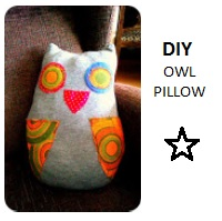 DIY olw pillow