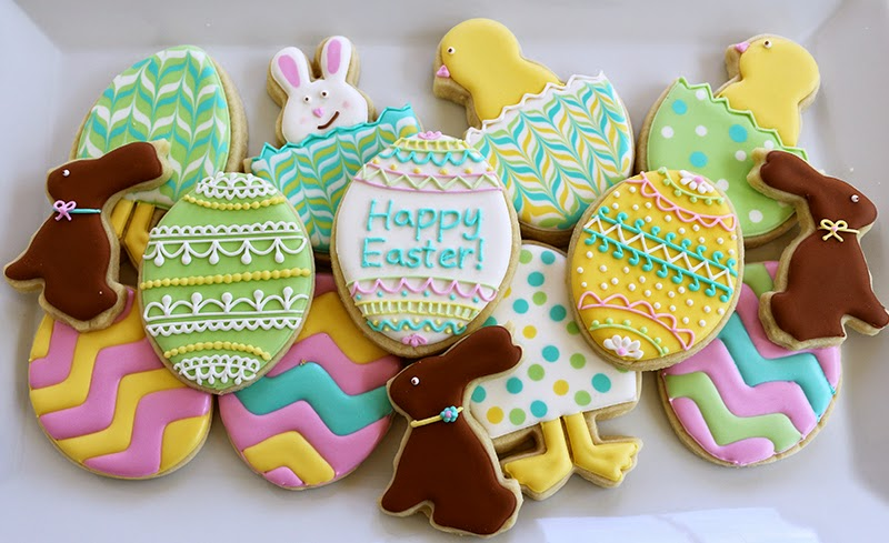 assorted easter platter
