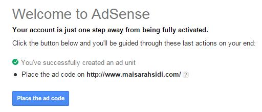 daftar google adsense, mohon google adsense, lulus google adsense
