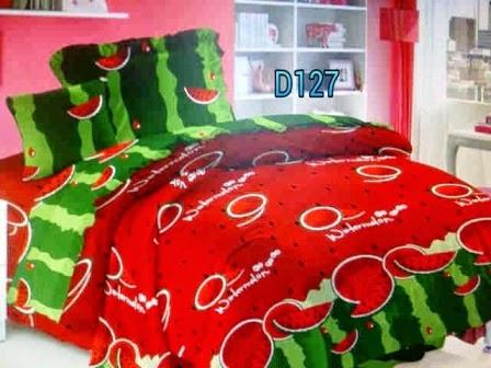 sprei - pojokhandmade.com - watermelon