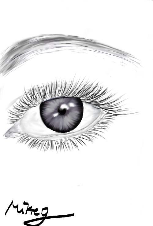 tegn et øje