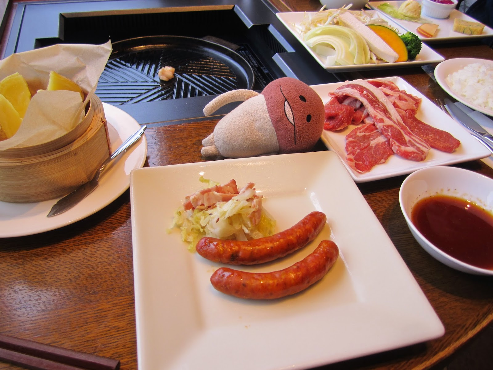 Garden Grill Sapporo food