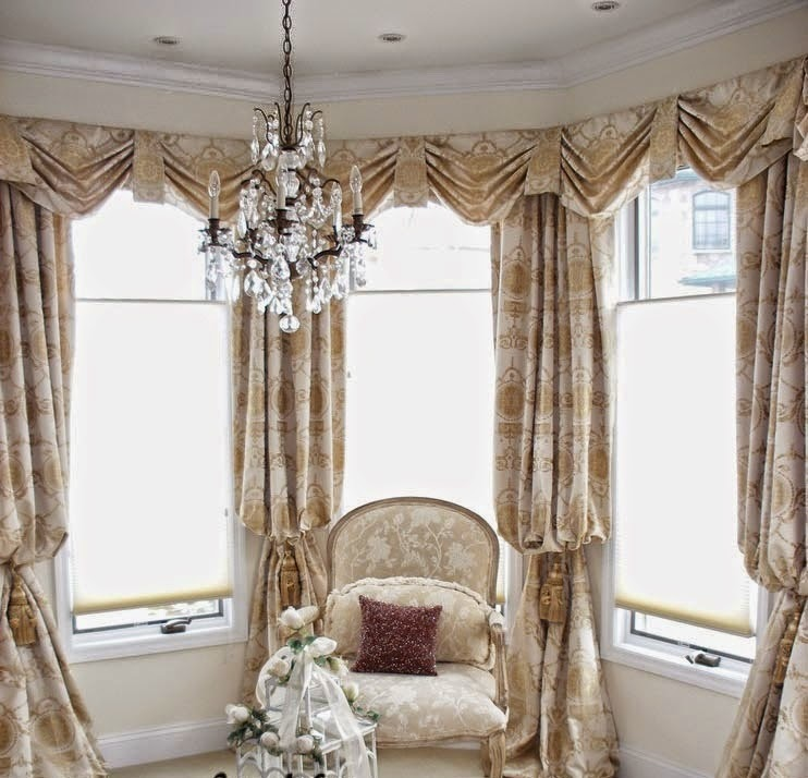 Top 10 trends living room curtain styles, colors and materials part 2