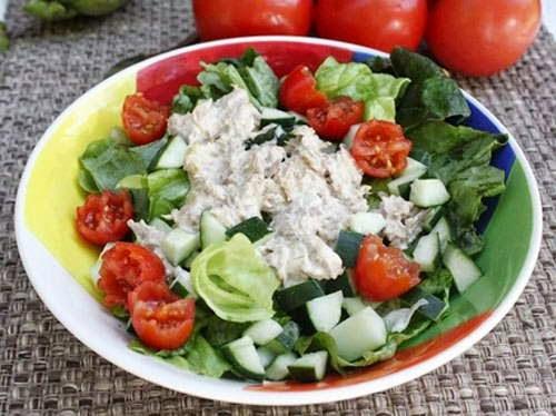 Salad Mackerel Fish - Salad Cá Ngừ