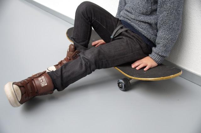 100% recycled Hosh Pants, sewn by huisje boompje boefjes