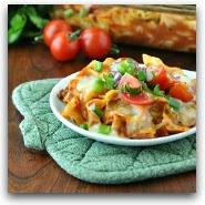 Enchilada Noodle Casserole