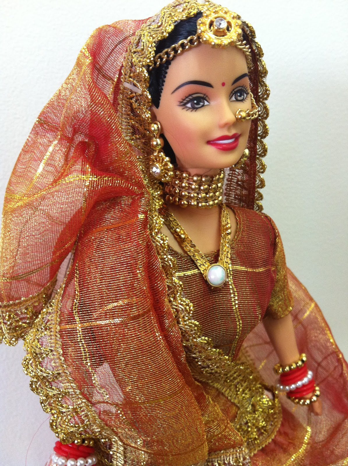 Barbie De Boxed Expressions Of India Wedding Fantasy