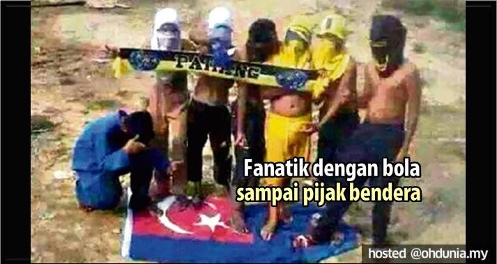 Fanatik Dengan Bola Sampai Pijak Bendera, Angkara Siapakah Ini?