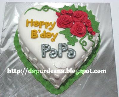 B Day Cake Images For Papa : dapur Deana: Beloved Papa s 38th B day Cake