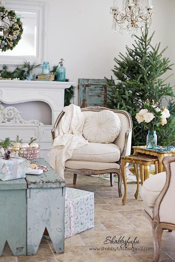 Christmas Home Tour 2014...A Vintage Inspired Holiday Season ...