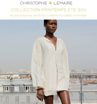 Christophe Lemaire // Nouvelle collection Ete 2011