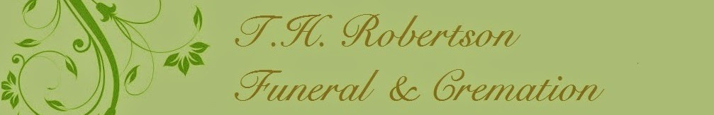 Robertson Obituary Notices