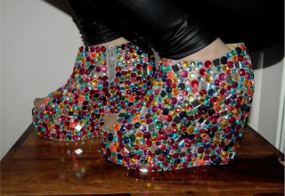 Sammi Jackson - DIY candy shoes
