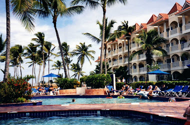La piscine et notre hôtel