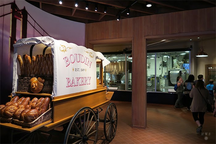 Inside Boudin Bakery Tour at DCA