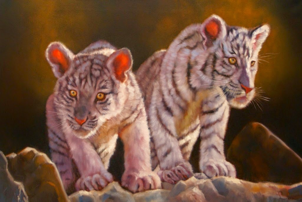 animales-africanos-pintados-al-oleo
