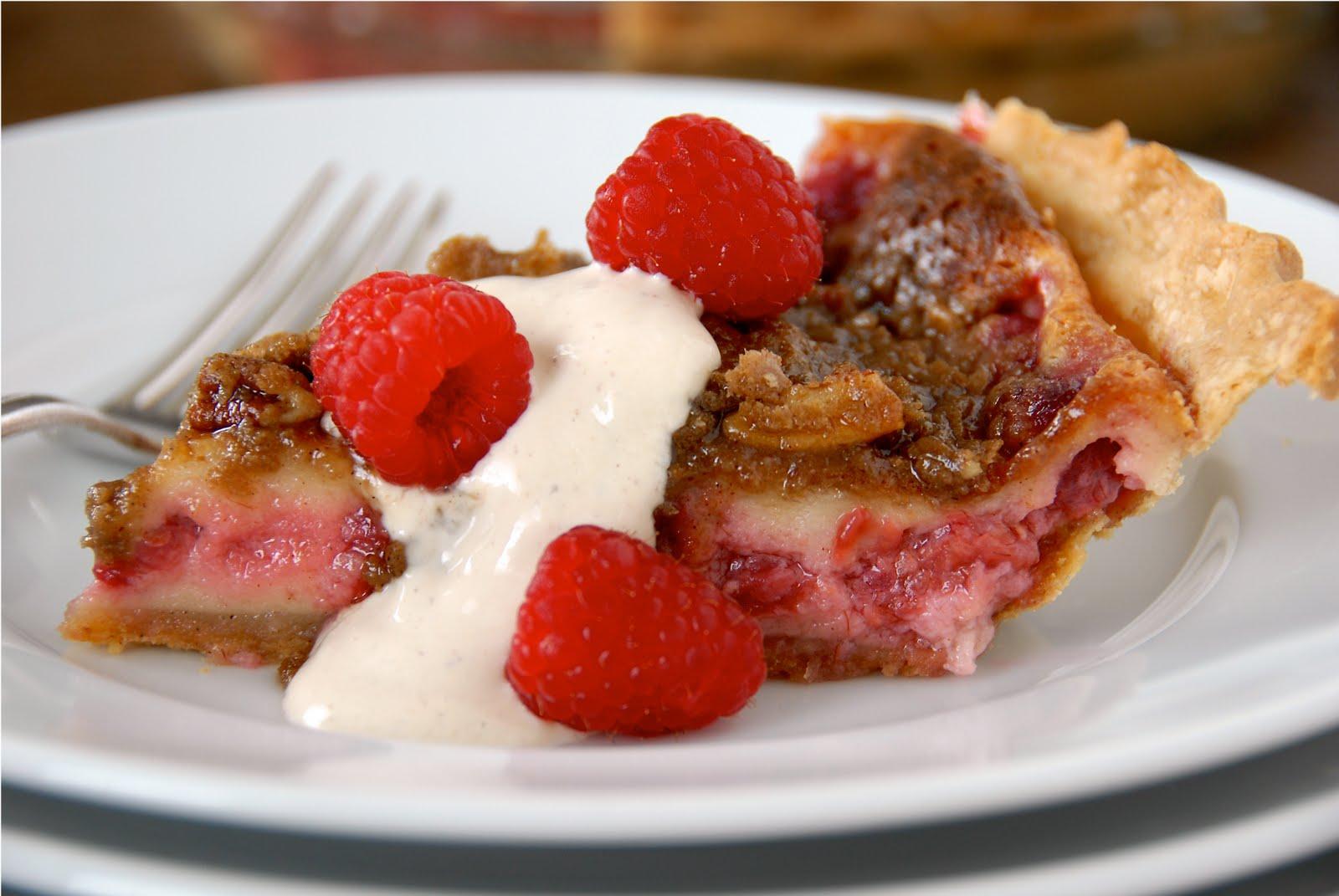 Raspberry Cream Pie | Kumquat