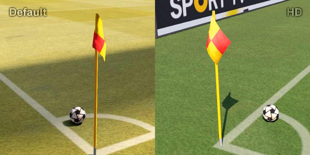 PES 2016 HD Corner Flag by MES Modder PREVIEW