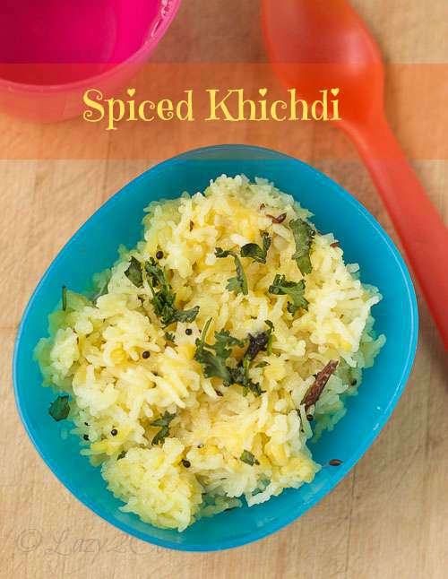 Spicy khichdi for kids