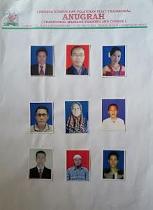 foto-foto alumni siswa pijat LPK/LKP Pijat Tradisional Anugrah