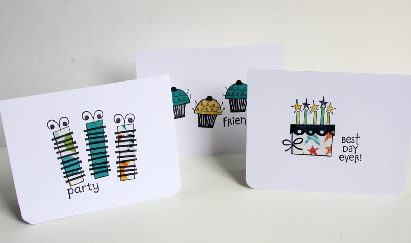 Quick birthday card set on unitytv unity blog this weeks video is a 3 card set featuring bella blvds sweet celebration birthday these cards are quick are flat for mailing and can be made with all bookmarktalkfo Choice Image