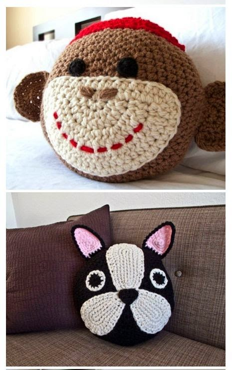 Crochet en 80 labores cojines de crochet - Cojin de crochet ...