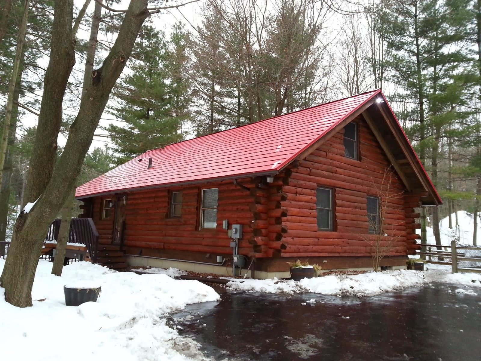 Metal roofs of michigan for Log pole barn