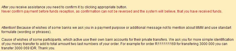 Setiap Melakukan Transfer Diwajibkan Menggunakan Kode Unik Berdasarkan 2 (Dua) Digit Terakhir Nomor Order