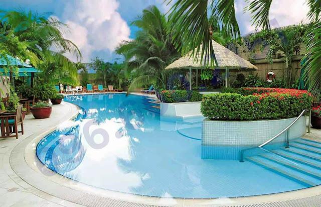 Bể bơi ngoài trời Garden Hill - 99 Trần Bình