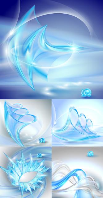 Blue Swirl Backgrounds