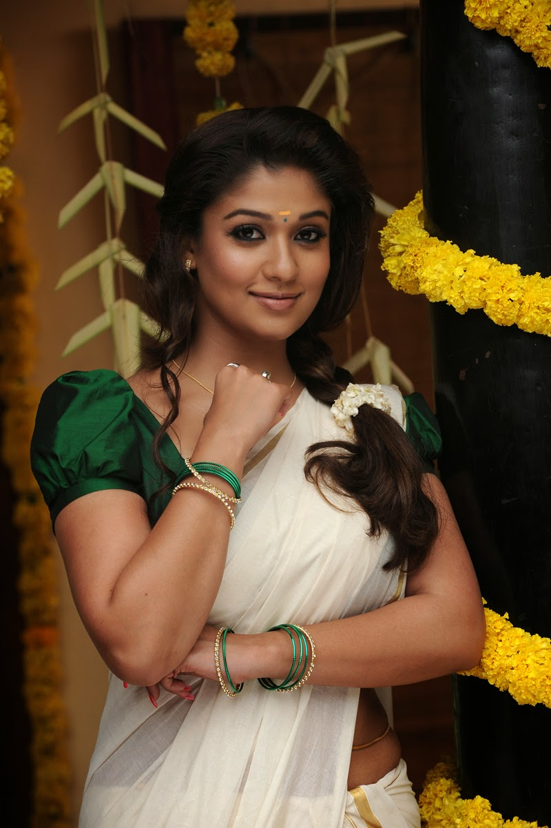 Nayanthara New Hot Photos In Saree
