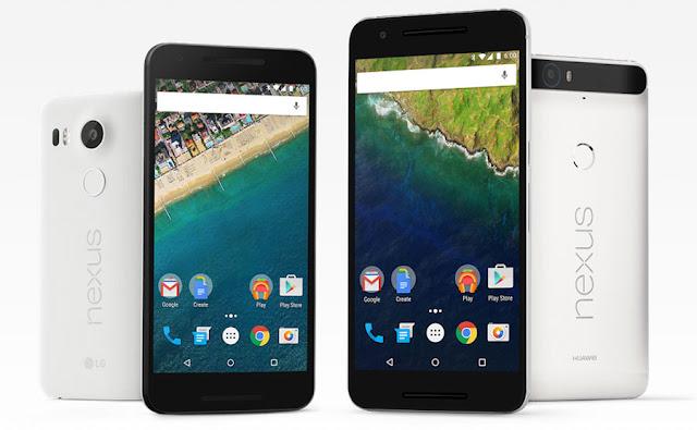 Nexus 5X dan Nexus 6P resmi diperkenalkan, dibekali sensor sidik jari dan USB Type-C