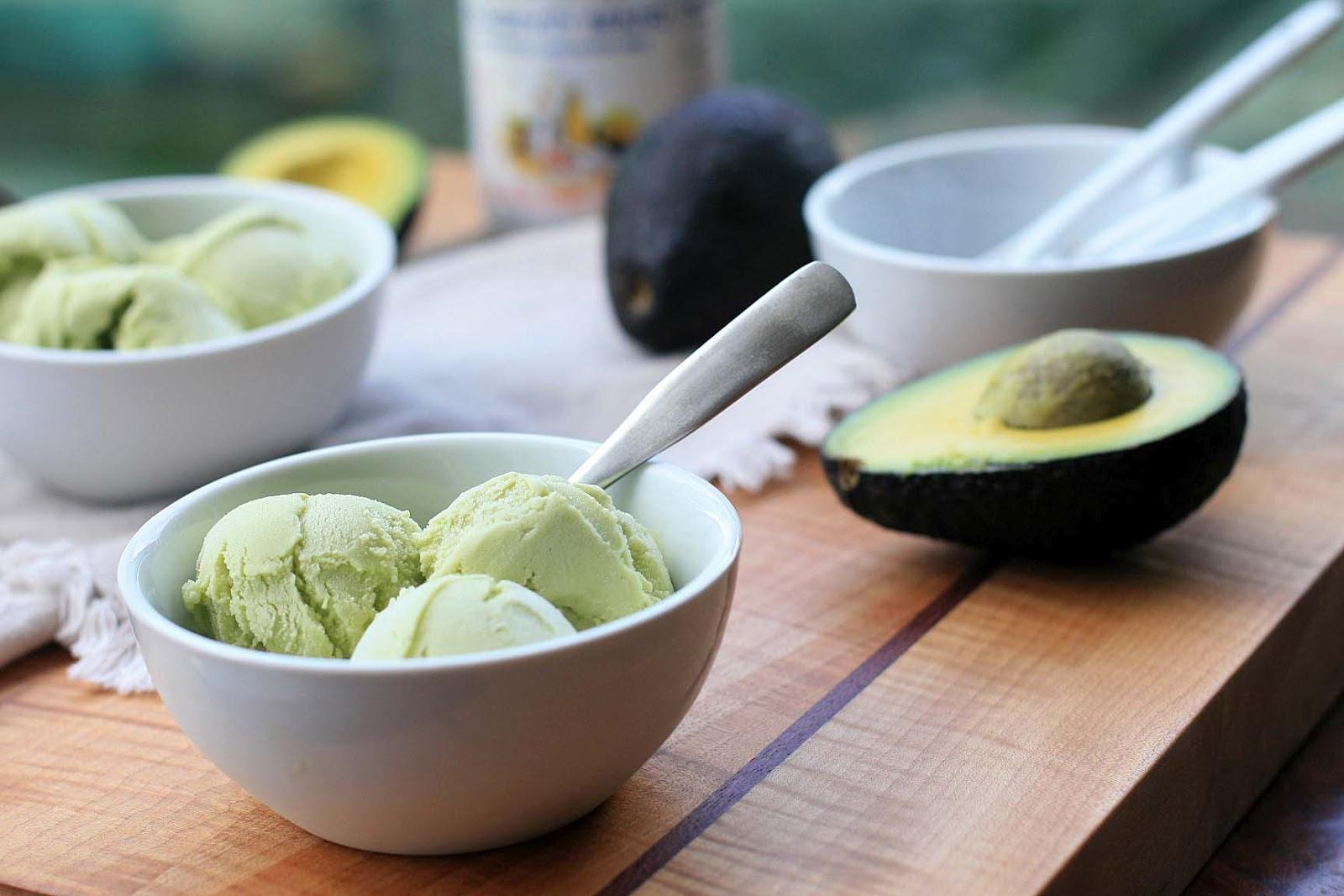 Avocado Ice Cream | Girl Cooks World