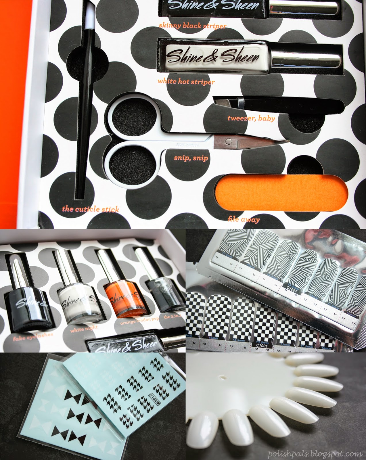 Polish Pals: Shine and Sheen Nail Art Kit Review